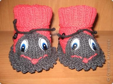 Связала в подарок для новорожденной девочки по мастер - классу, который представила MarinaKlin http://stranamasterov.ru/node/56875  Надеюсь малышка будет носить с удовольствияем. фото 17