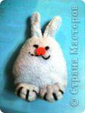 Вот такой Кролик получился у моей дочки.... фото 1