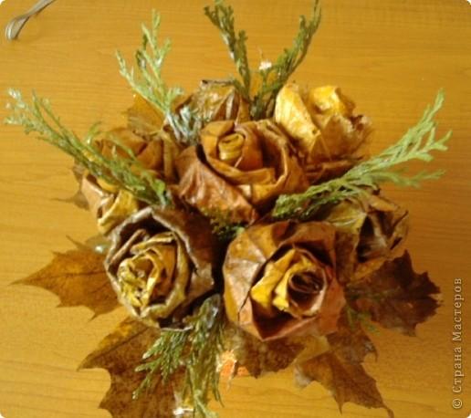 Осенние букетики фото 4