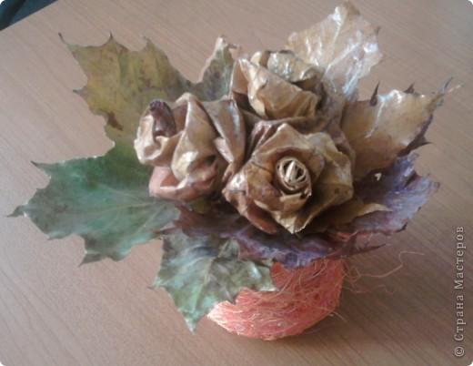Осенние букетики фото 1