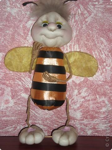 Моя повторюшка!!! Увидела у pawy и решила сделать пчелку! фото 1