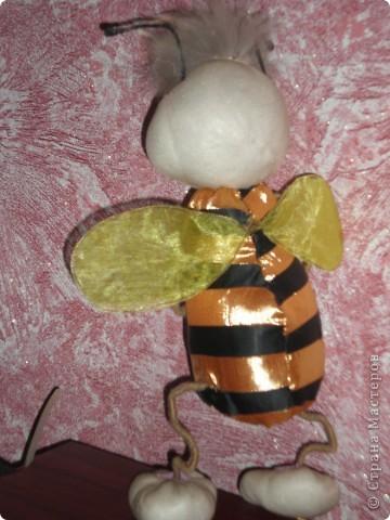 Моя повторюшка!!! Увидела у pawy и решила сделать пчелку! фото 2