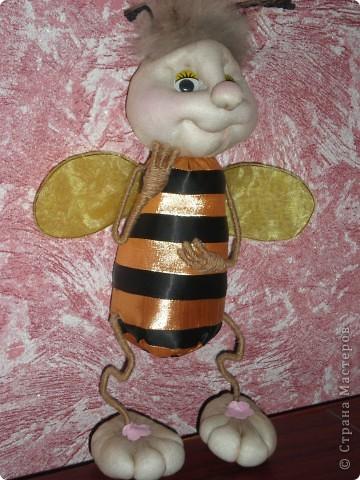 Моя повторюшка!!! Увидела у pawy и решила сделать пчелку! фото 3