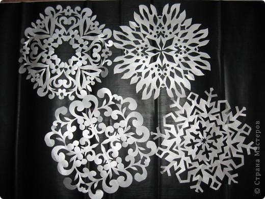 Снежный ажур. Злато-серебро. фото 3