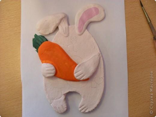 заяц из теста фото 3