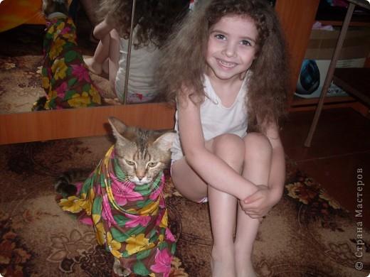 Дочка с Муськой фото 3