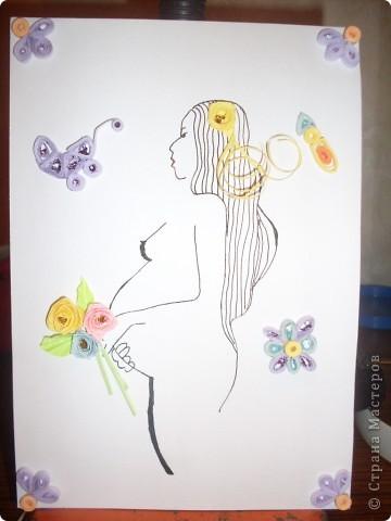 открытка для беременной подруги фото 1