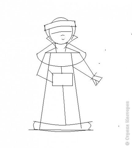 """По книги """"Учимся рисовать"""" Г.Н.Шалаевой я научилась рисовать снегурочку. Я рисовала на компьютере в программе Paint, а можно рисовать  и на листе. Попробуйте, у Вас получиться? фото 3"""