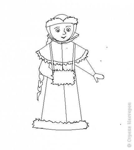 """По книги """"Учимся рисовать"""" Г.Н.Шалаевой я научилась рисовать снегурочку. Я рисовала на компьютере в программе Paint, а можно рисовать  и на листе. Попробуйте, у Вас получиться? фото 4"""