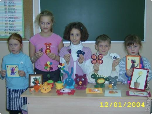 """Такие игрушки делают ребята в студии """" Волшебство из бумаги """",г.Подольск фото 5"""