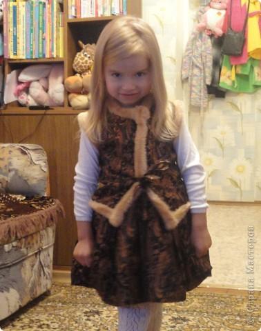 Выходной костюм для дочери фото 1