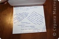 Я уже давно эту открыточку сделала. Вроде делала долго, а получилась простенькая... Снежинки из серебряных полосок. Надпись из перламутровой краски. На фото ни того не заметно, ни другого... :( фото 5