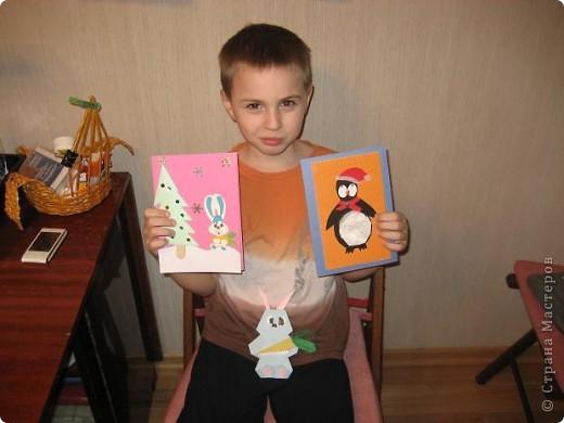 Подготовка моего первоклашки к Новому Году))) а семья-то большая... фото 1