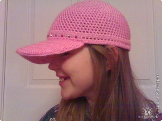 Моя первая кепка для дочурки