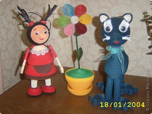 """Такие игрушки делают ребята в студии """" Волшебство из бумаги """",г.Подольск фото 1"""