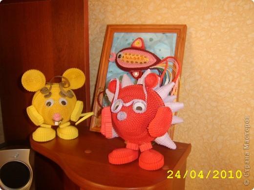 """Такие игрушки делают ребята в студии """" Волшебство из бумаги """",г.Подольск фото 4"""