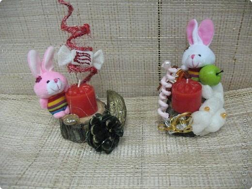 Подарки-маленькие зайчата. фото 2