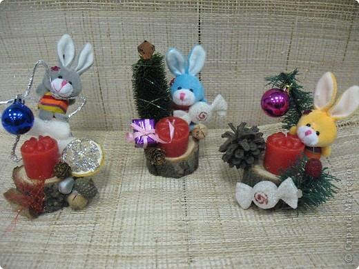 Подарки-маленькие зайчата. фото 1