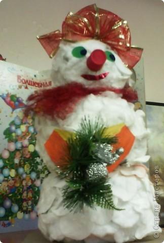 Хитрый снеговик.