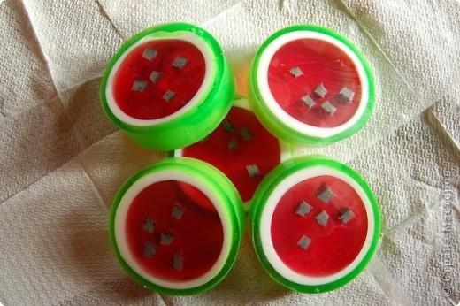 арбузное мыло фото 1