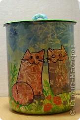 банка для кошачьего корма фото 1