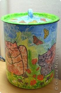 банка для кошачьего корма фото 2