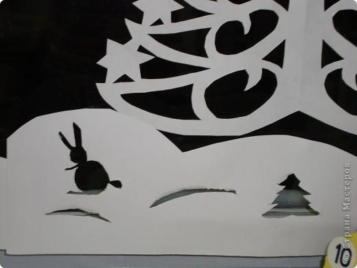 Украсили окна к Новому году. фото 12