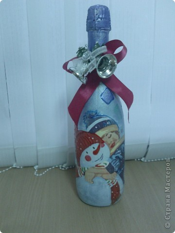 Моя Новогодняя бутылочка)) фото 1