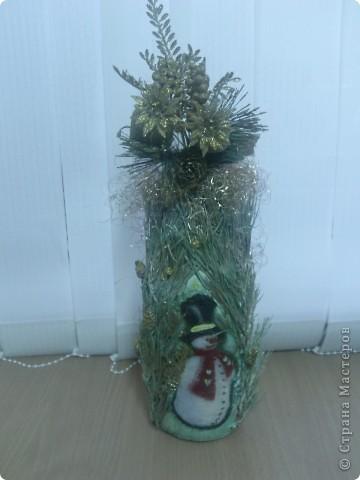 Моя Новогодняя бутылочка)) фото 2