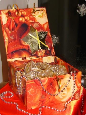 Вот теперь я свои шарики закончила, сделав такую коробку для их хранения фото 1