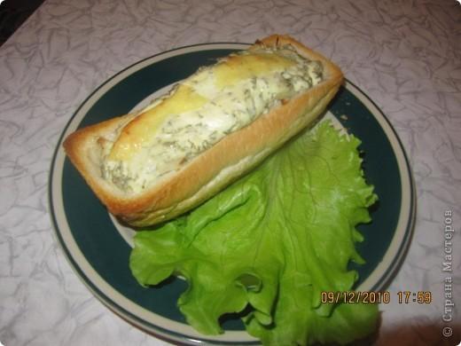 рыбка в хлебе.