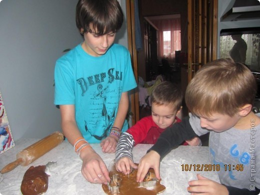 рождественские традиции /изготовление пряного печенья /  фото 2