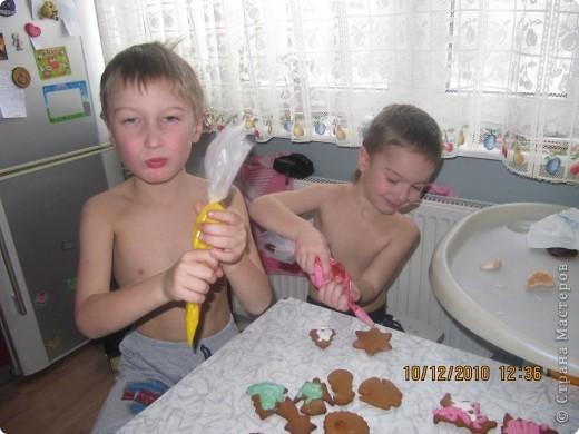 рождественские традиции /изготовление пряного печенья /  фото 3