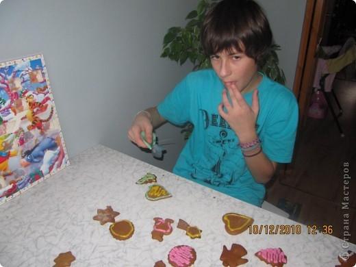 рождественские традиции /изготовление пряного печенья /  фото 4