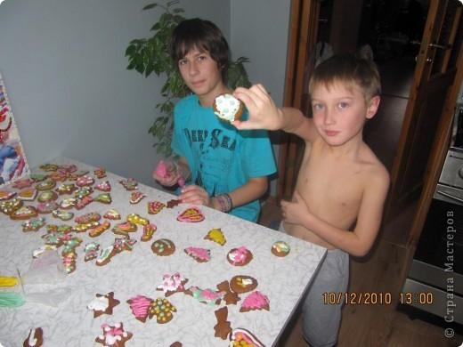 рождественские традиции /изготовление пряного печенья /  фото 6