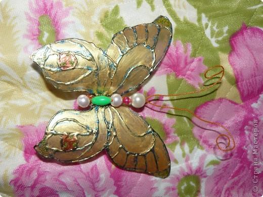 продолжение бабочек из пластиковых бутылок фото 3