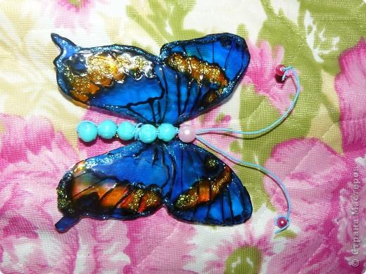 продолжение бабочек из пластиковых бутылок фото 5