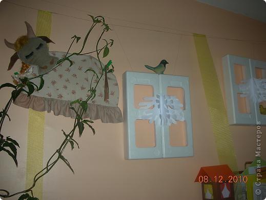 Украшение помещения к Новому году. фото 2