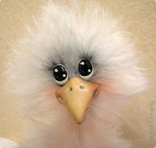 Добрый день, дорогие рукодельницы! Я обещала Вам, показать как я делаю своих птичек, и вот, делая еще одну дамочку, смогла немного заснять и сам процесс. МК предоставлен для ЛИЧНОГО использования! Не для того, что бы птичек выставлять на ПРОДАЖУ! Спасибо за понимание и уважение авторского права!  Некоторые люди просто удивляют и поражают тем, что даже не напишут, что это не их авторская работа..  Для работы мне понадобилось: Проволока медная в оплетке 2-3 мм в сеч. Нитки Yartart tecno Акриловые нитки в цвет пушистым Полимерная застывающая глина Акриловые краски Акриловый лак Реснички Тени, румяна, для тонировки пуха  И так, приступим))))  фото 21
