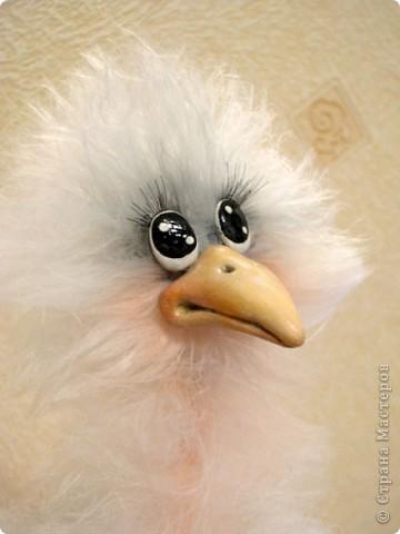 Добрый день, дорогие рукодельницы! Я обещала Вам, показать как я делаю своих птичек, и вот, делая еще одну дамочку, смогла немного заснять и сам процесс. МК предоставлен для ЛИЧНОГО использования! Не для того, что бы птичек выставлять на ПРОДАЖУ! Спасибо за понимание и уважение авторского права!  Некоторые люди просто удивляют и поражают тем, что даже не напишут, что это не их авторская работа..  Для работы мне понадобилось: Проволока медная в оплетке 2-3 мм в сеч. Нитки Yartart tecno Акриловые нитки в цвет пушистым Полимерная застывающая глина Акриловые краски Акриловый лак Реснички Тени, румяна, для тонировки пуха  И так, приступим))))  фото 23