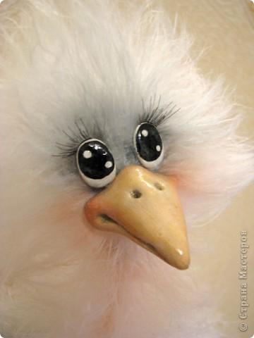 Добрый день, дорогие рукодельницы! Я обещала Вам, показать как я делаю своих птичек, и вот, делая еще одну дамочку, смогла немного заснять и сам процесс. МК предоставлен для ЛИЧНОГО использования! Не для того, что бы птичек выставлять на ПРОДАЖУ! Спасибо за понимание и уважение авторского права!  Некоторые люди просто удивляют и поражают тем, что даже не напишут, что это не их авторская работа..  Для работы мне понадобилось: Проволока медная в оплетке 2-3 мм в сеч. Нитки Yartart tecno Акриловые нитки в цвет пушистым Полимерная застывающая глина Акриловые краски Акриловый лак Реснички Тени, румяна, для тонировки пуха  И так, приступим))))  фото 24