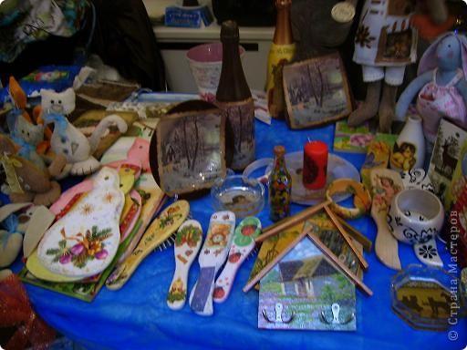 показ декупажа,декор досок,ключницы,тильды новогодние и многое другое фото 2