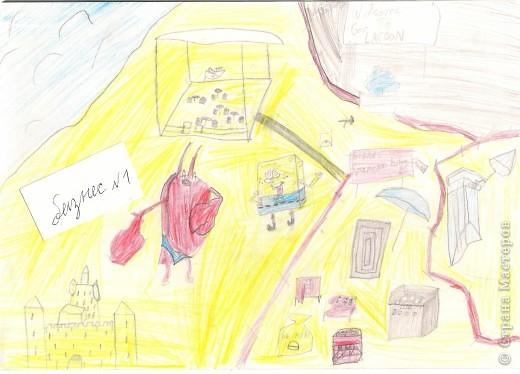 Я рисую Спанч Боба. фото 4