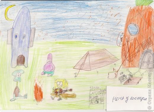 Я рисую Спанч Боба. фото 1