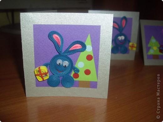 Мини открыточки на НГ. фото 2