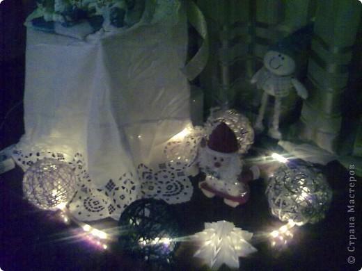 Новогодние шарики с подсветкой