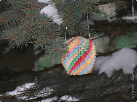 новогодний шарик фото 3