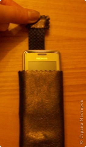 чехол для телефона из кожи фото 1