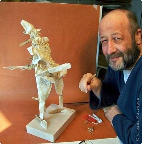 Мастер древнего искусства... Фоторепортаж. фото 5