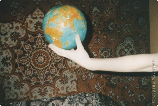 Глобус из арбуза